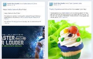 Seattle Seahawks Social Media