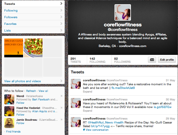 Core Flow Fitness on Twitter