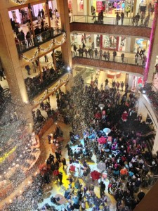 Pacific Place Holiday Snow